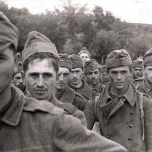 французские солдаты