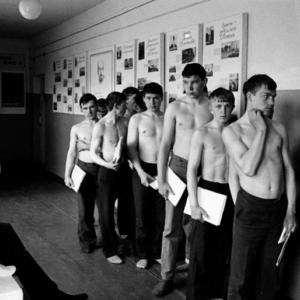 Призывники в СССР
