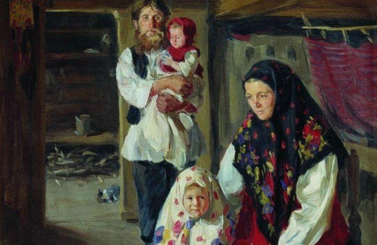 Отцовство подтверждалось на Руси именно так