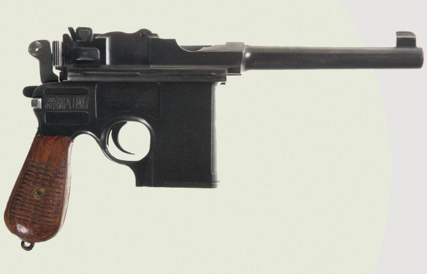 Пистолет «Маузер» легендарное оружие комиссаров