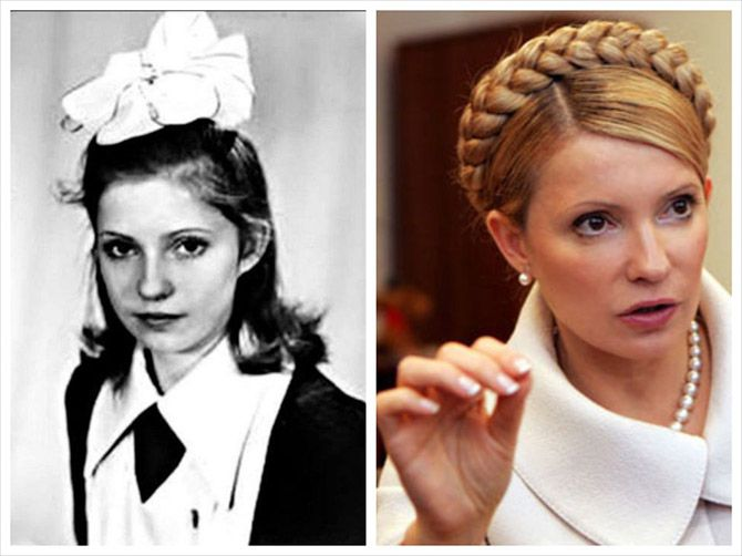 Юлия Тимошенко. Политики в молодости: вот как они выглядели (фото)