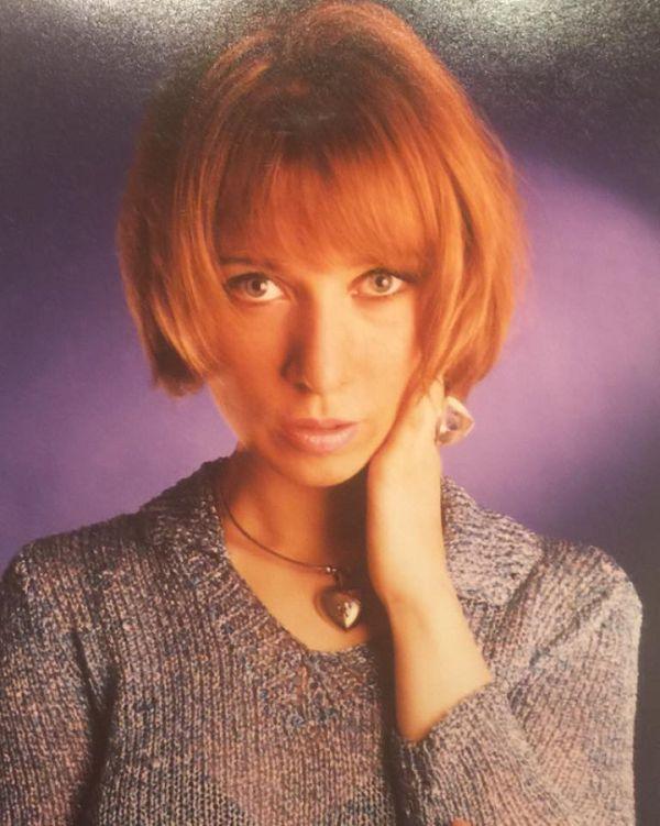 Мария Захарова в молодости
