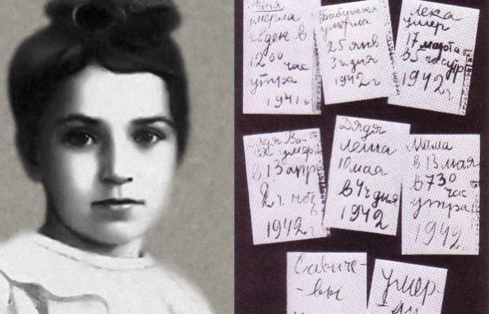 Таня Савичева — блокадный дневник. Страшные страницы о войне