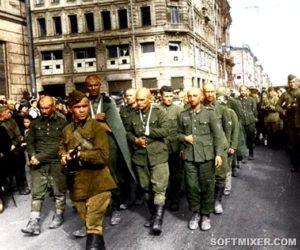 Жизнь пленных немцев