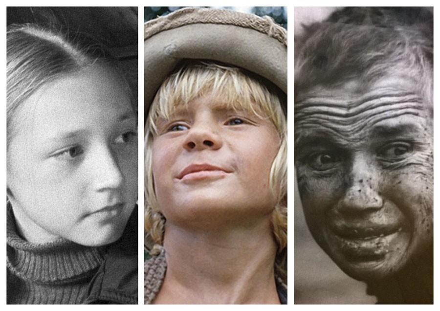 российские актёры, которые попали в кино ещё детьми