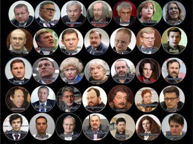Лидеры оппозиции и их имущество