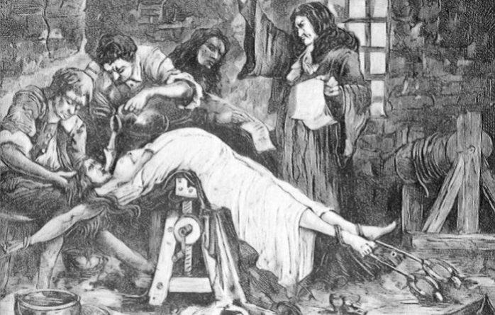 пытки женщин