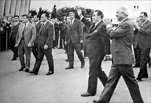 Какая охрана была у советской партийной элиты.