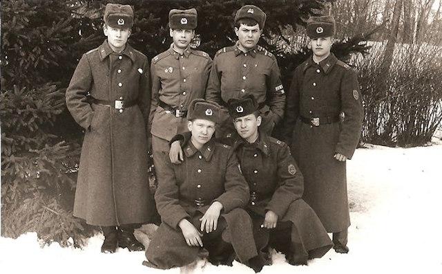 Как в советской армии