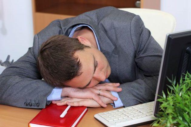Хочется спать на работе