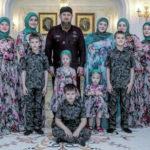 Дети Кадырова:  12 наследников главы Чечни (фото)