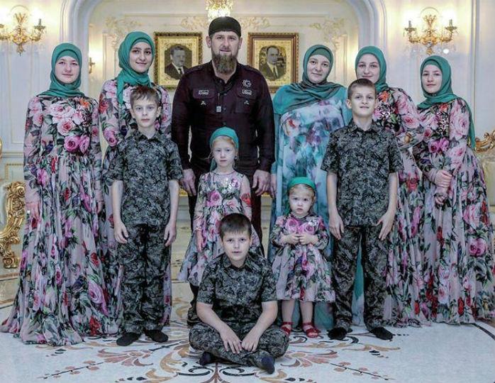 дети Кадырова