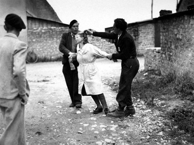 женщинам в оккупации