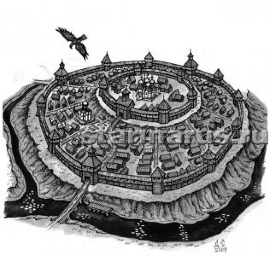 Древнерусские города — какими они были?