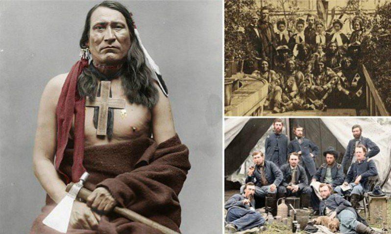 Племя шайеннов. Войны — индейцы, воевавшие с армией США