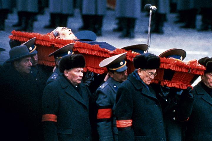 смерть Брежнева