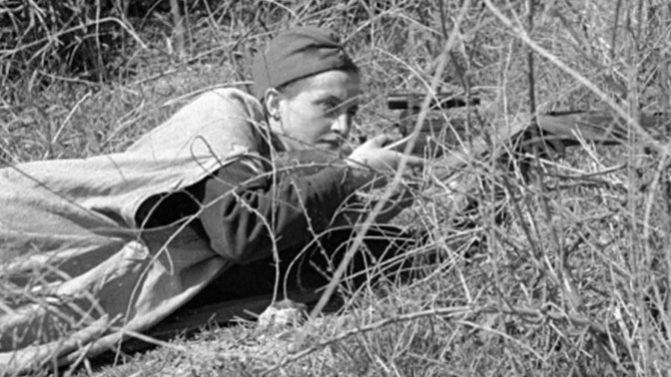 Советские женщины - снайперы