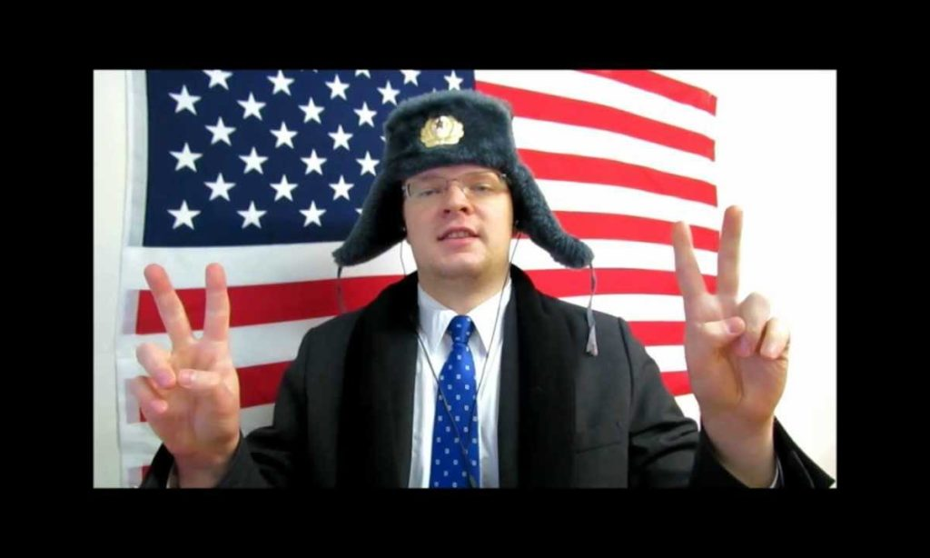 Русский в США