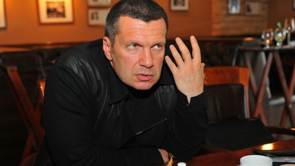 Соловьев поставил на место русофоба