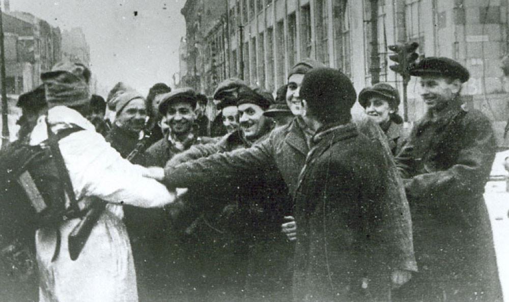 освобождения Варшавы от нацистов