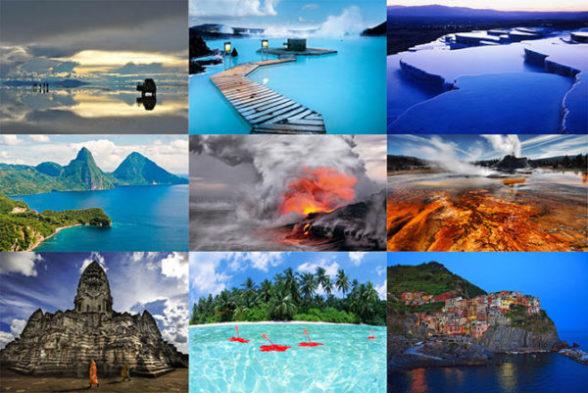 Самые красивые места в мире. Невероятные фото