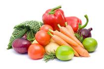 Свежие, тушеные или вареные овощи