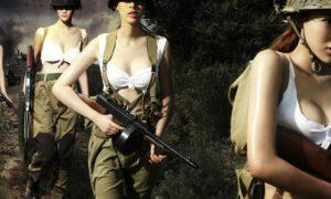 Взрослая женщина сама объявляет мужчинам войну