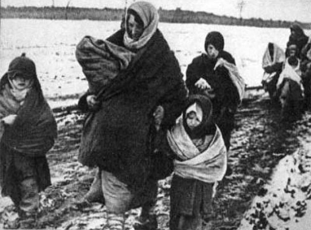 Депортация народов Сталиным во время войны