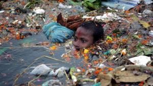 самые загрязненные места