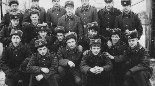 москвичи в советской армии