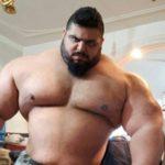 Саджад Гариби — иранский Халк. Невероятных размеров атлет