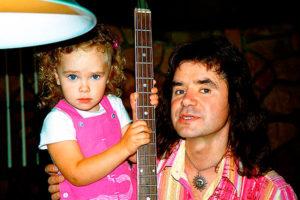 Евгений Осин с дочкой