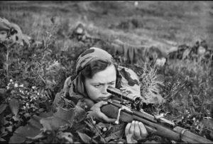 женщины снайперы великой отечественной войны