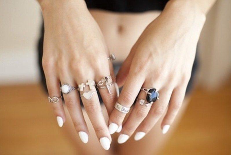 На каких пальцах нельзя носить кольца