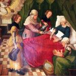Роды в Средневековье : как рожали королевы