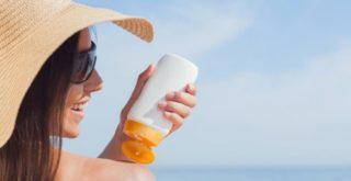 При использовании солнцезащитного крема