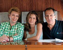 Жена Сергея Лаврова